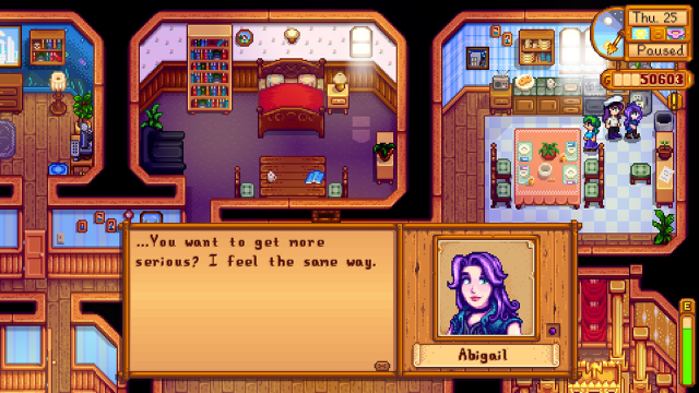 Stardew valley how to get 10 hearts with abigail