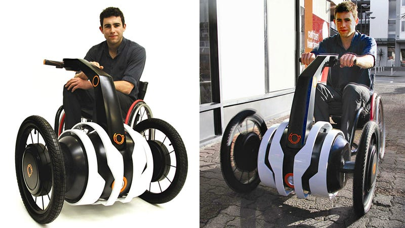 Turn manual wheelchair into electric