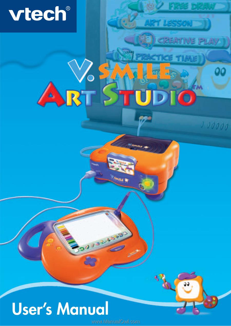 vtech v smile console instructions