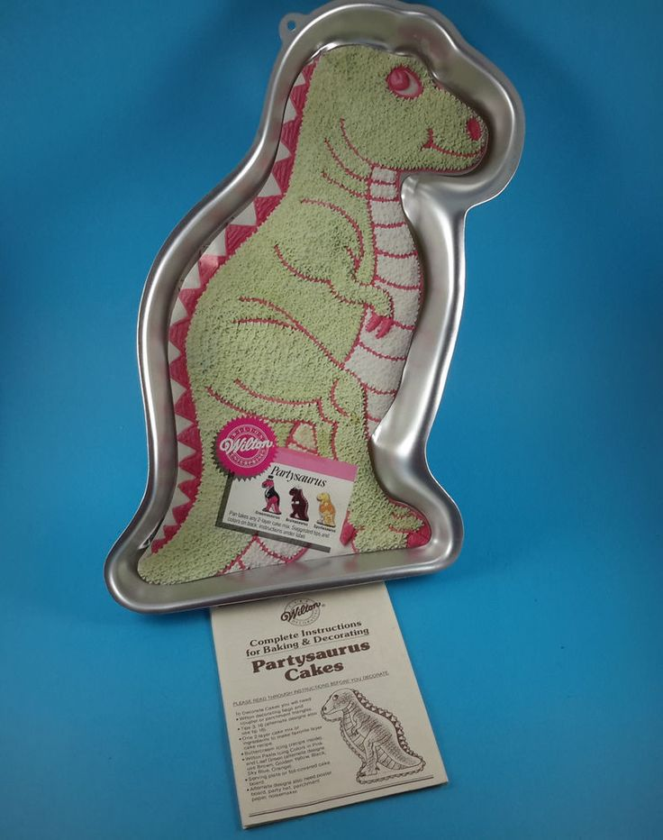wilton dinosaur cake instructions