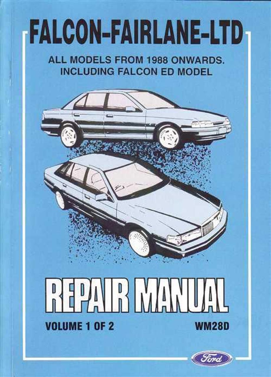 xg falcon workshop manual pdf